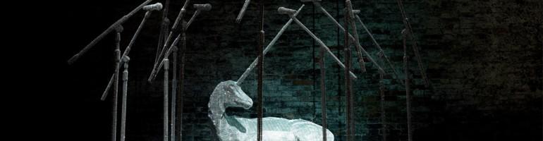 Orpheus' Dream, installazione cristalli swarovski e rete metallica, 2009