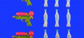 Paolo Lorenzo Parisi Oro blu la guerra santa cm 40x50, Galleria Studio 44