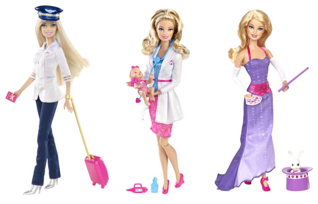 3 barbie
