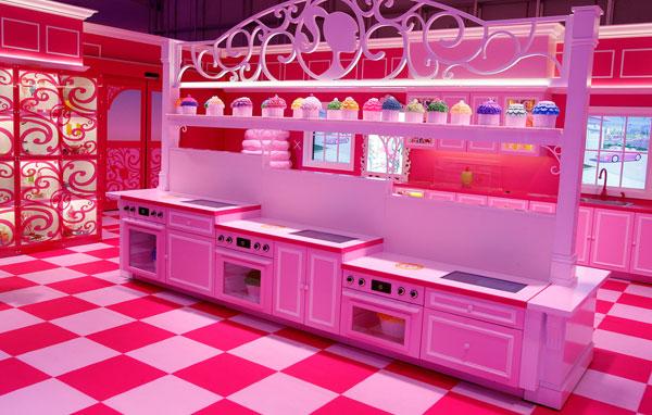 Barbie-cucina