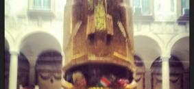 Lele De Bonis, The Gold Moai: feeding the planet