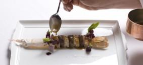 Un piatto del ristorante Andreina di  Loreto (Ancona); chef Errico Recanati 1 stella Michelin