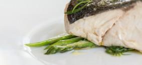 Piatto del Venissa, chef  Antonia Klugmann, 1 stella Michelin (Isola di Mazzorbo, Venezia)