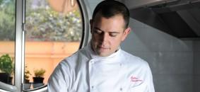 Chef Matteo Iannaccone, 1 stella Michelin del Cafè Les Paillotes (Pescara)
