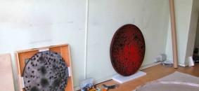 Lo studio di via Solferino dove Kees de Goede  ha realizzato alcuni dei suoi lavori