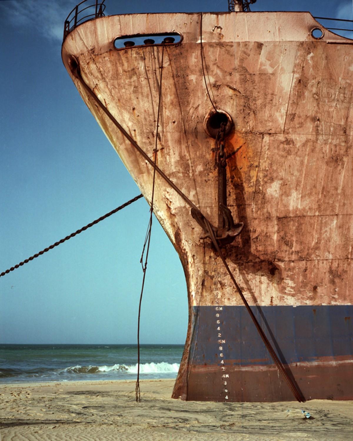 """""""Ship on Sand #1"""", 2013"""