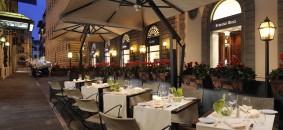Hotel Helvetia & Bristol Ristorante esterno
