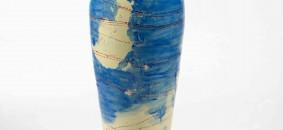 Pizzi Cannella, Mappa del mondo, Gli approdi, 2009-10, ceramica, h cm 105