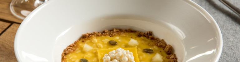 Ripieno di tortelli alla zucca, riso e Grana Padano DOP