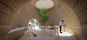 Tecla_3d-printed-earth-house-by-Crane-WASP_daytime-summer