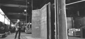 in officina . strutture 2000 cm 290x160x40 ferro terracotta n. cat 236