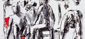Carta di seta realizzata da Dario Fo
