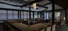 Main dining area by Tomohiro Sakashita
